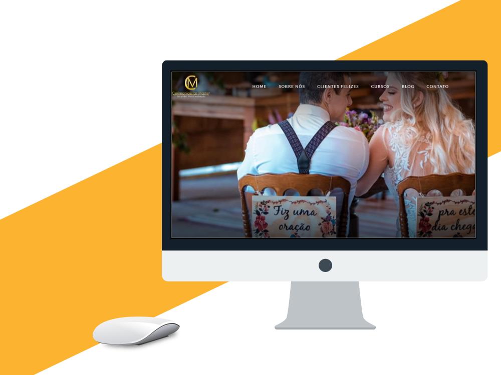 criação de site profissional cerimonialistas master