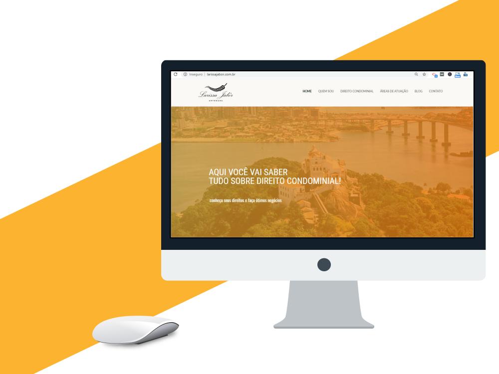 criação de site profissional larissa jabor