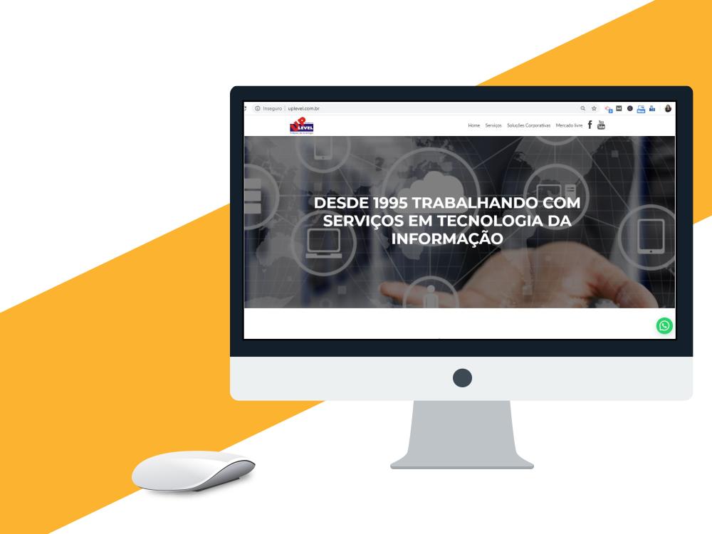 criação de site profissional uplevel
