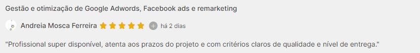depoimento andreia gestão de trafego google ads 2021